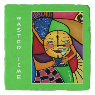 Wasted Time On Green Time Pieces Trivet