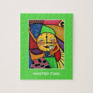 Wasted Time  - Time Pieces Jigsaw Puzzle