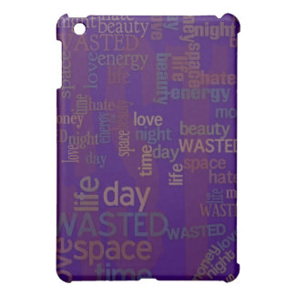 Wasted Words Collage Case For The iPad Mini