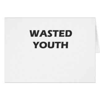Wasted Youth Rebellion Card