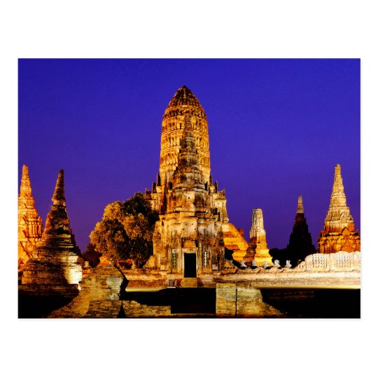 Wat Chaiwatthanaram Postcard