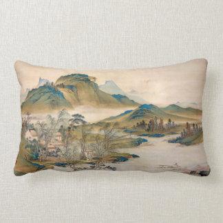 Watanabe Gentai A Retired Official's Homecoming Lumbar Pillow