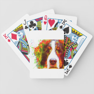 """WATCH""-Bernese Mountain Dog Bicycle Playing Cards"