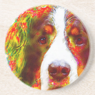 """WATCH""-Bernese Mountain Dog Coaster"