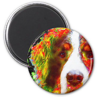 """WATCH""-Bernese Mountain Dog Magnet"