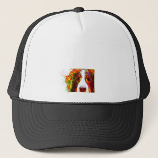 """WATCH""-Bernese Mountain Dog Trucker Hat"
