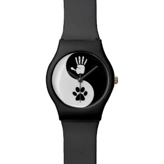 Watch (black/round)