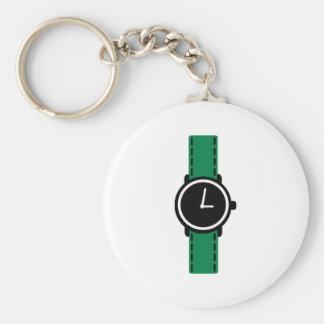 Watch clock keychain