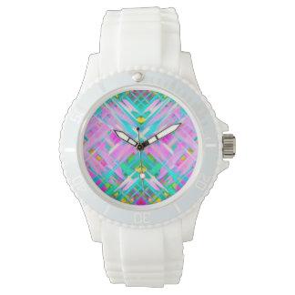 Watch Colorful digital art splashing G473