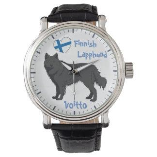 Watch Finnish Lapphund black Lapinkoira