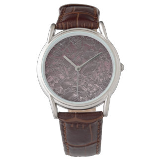 Watch Floral Relief Abstract
