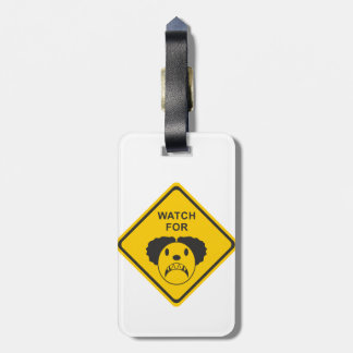 Watch For Clown Luggage Tag