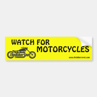 Watch for Motorcycles Bumper Stickers
