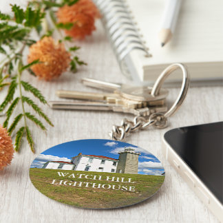 Watch Hill Lighthouse, Rhode Island Keychain