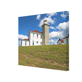 Watch Hill Lighthouse, Rhode Island Wrapped Canvas
