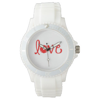 watch, love, fireman's wife, firefighter, gift for wrist watches