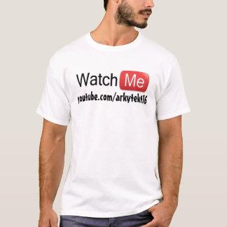 Watch Me on YouTube (Basic) T-Shirt