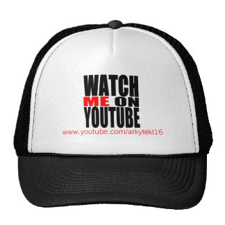 Watch Me on YouTube (Modern) Trucker Hat