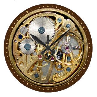Watch Mechanism Large Clock