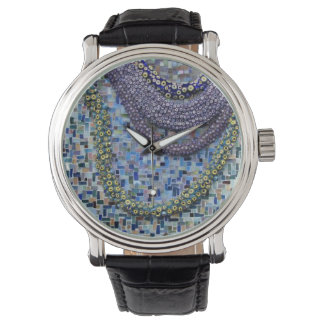 Watch mosaic tile