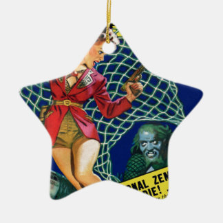 Watch out!  A net! Ceramic Ornament