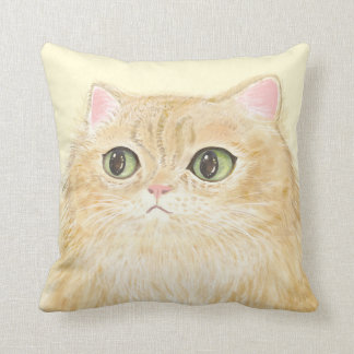 Watch out! I am staring at you! Cat Pillow
