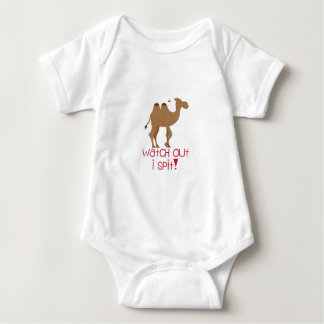 Watch Out I Spit! Baby Bodysuit
