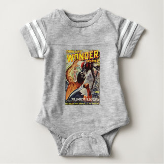 Watch Out!  I't a Big Fly! Baby Bodysuit
