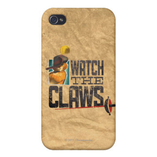 Watch The Claws iPhone 4 Case