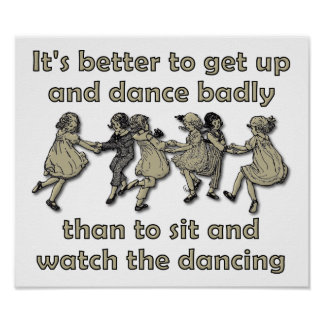 Watch the Dancing Poster