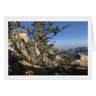 Watch Tower Greeting Card
