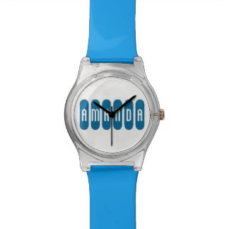 Watch w/Blue Band for Girls