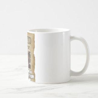 "WATCH ""WANTED"" poster coffee mug"