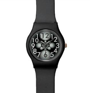 Watch with light  in the darkens vortex design