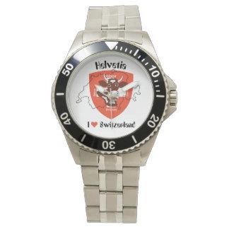 Watch with Swiss Design Schweiz Suisse Switzerland