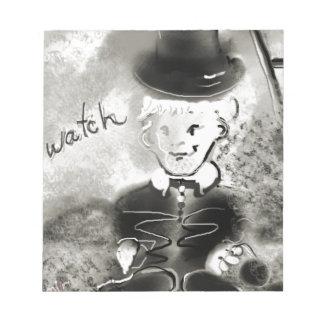 watchb&w notepad
