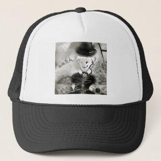 watchb&w trucker hat