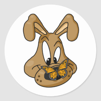 Watchdog Classic Round Sticker