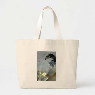 Watched by the Raven Large Tote Bag