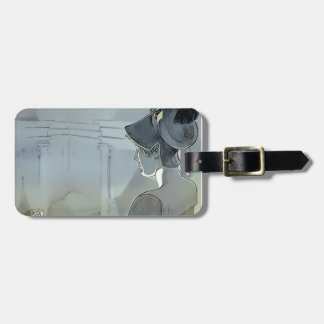 Watched by the Raven Luggage Tag