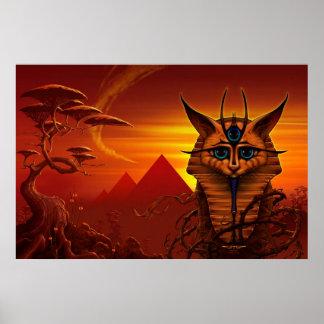Watcher II (Sphinx) by J. Matthew Root Poster