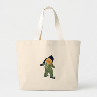 Watcher in the Woods Large Tote Bag