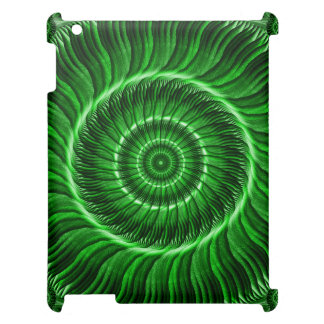 Watcher of the Green Mandala Cover For The iPad