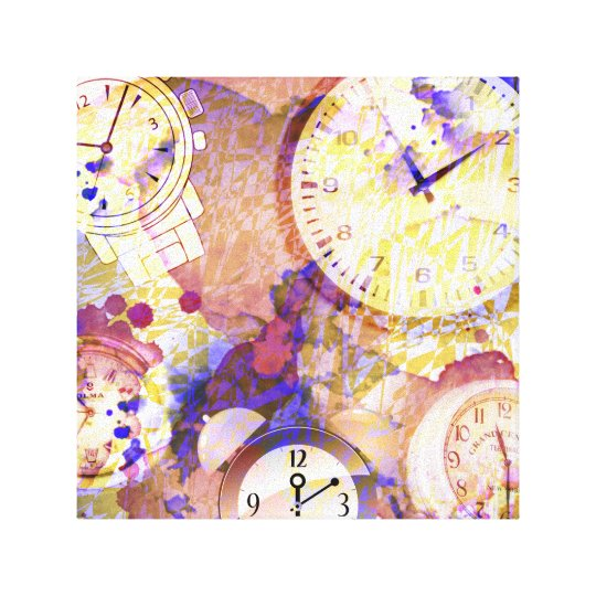 Watches Canvas Print