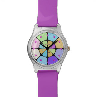 """Watches Dial May28th """"Fleur stylized Pop Art """""""
