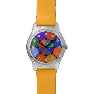 "Watches May28th ""Fleur Pop Art"" Dark Colors"