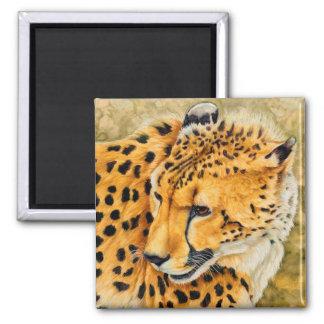 Watchful - Cheetah Art Magnet