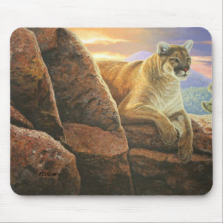 """Watchful"" Cougar - Mouse Pad"