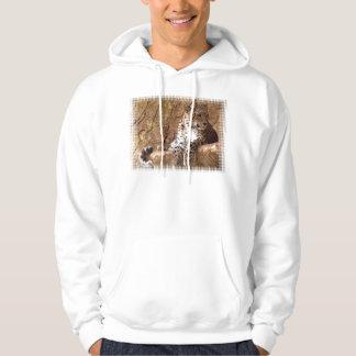 Watchful Leopard Hooded Sweatshirt