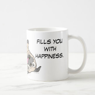 Watching a Pug be a Pug Fills You With Happiness. Coffee Mug